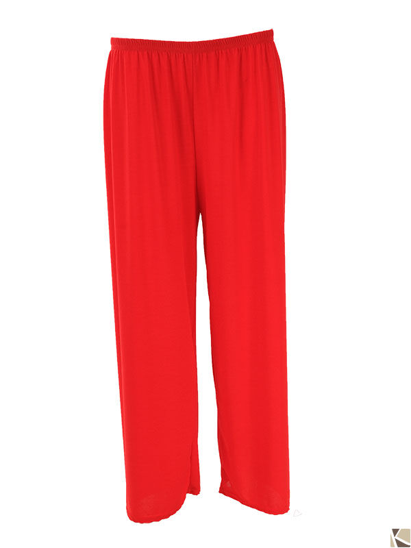 Stretch Trousers red